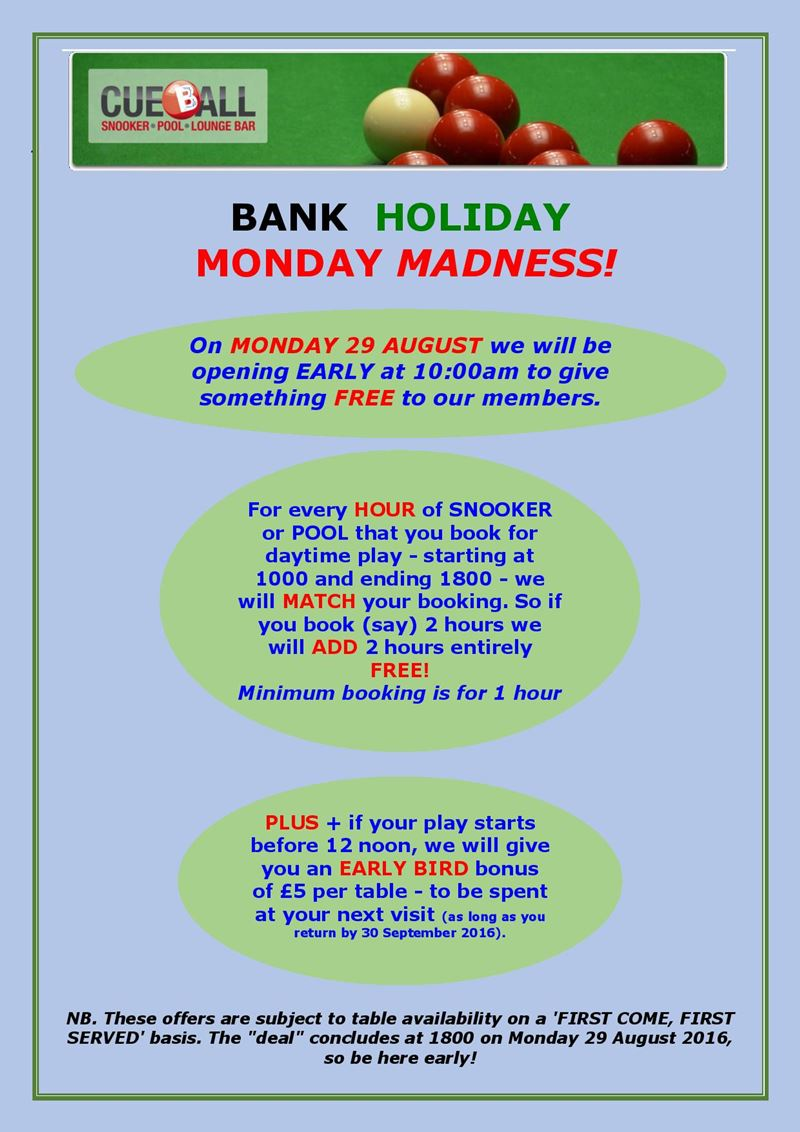 Bank Holiday Monday Madness! - Click to enlarge the image set