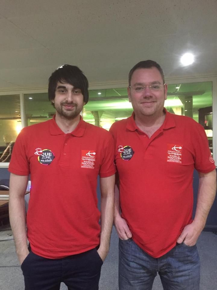 Cueball Derby staff, Lee Shanker & Danny Cooper graduate as WPBSA World Snooker coaches - Click to enlarge the image set